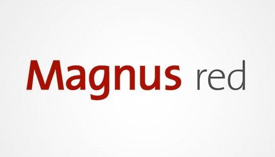 Magnus red logo